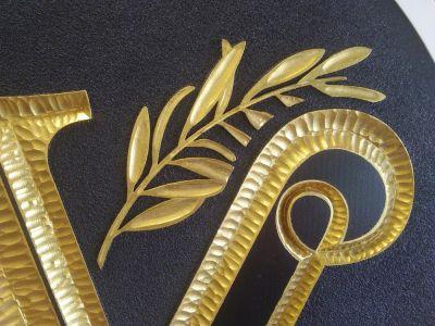 hdu carved closeup